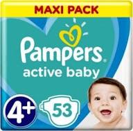 Pampers Active Baby Luiers Maat 4+ - 53 luiers