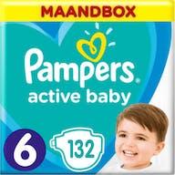 Pampers Active Baby Maat 6 - 132 Luiers