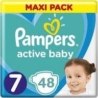 Pampers Active Baby Maat 7 - 48 Luiers