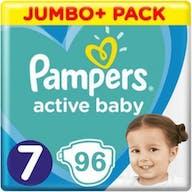 Pampers Active Baby Maat 7 - 96 Luiers