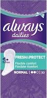 Always Dailies Inlegkruisjes Fresh&Protect Normaal 30 Stuks