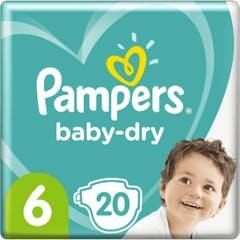 Pampers Baby Dry Maat 6 - 20 Luiers
