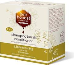Bee Honest Shampoo Bar 2in1 80 gram Jojoba