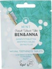 Ben & Anna Tandpasta Tablets Mint Fluoride