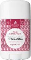 Ben & Anna Deodorant Stick 60 gram Pink Grapefruit