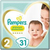 Pampers Premium Protection Luiers Maat 2 – 31 Luiers