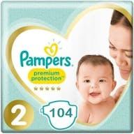 Pampers Premium Protection Luiers Maat 2 – 104 Luiers Voordeelverpakking
