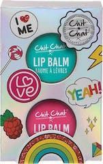 Chit Chat Geschenkset Lip Balm Tins