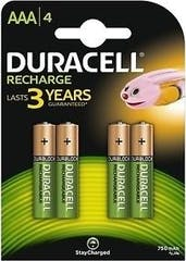 Duracell Recharge Battery Plus AAA 4st