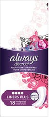 Always Discreet Liners Plus 18 Stuks