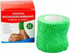 Trophax Wondverband 4,5 m Zelfhechtend Groen