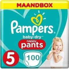 Pampers Baby Dry Pants Maat 5 - 100 Luierbroekjes Maandbox