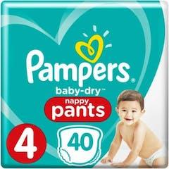 Pampers Baby Dry Pants Maat 4 - 40 Luierbroekjes
