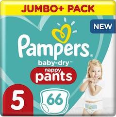 Pampers Baby Dry Pants Maat 5-66 luierbroekjes