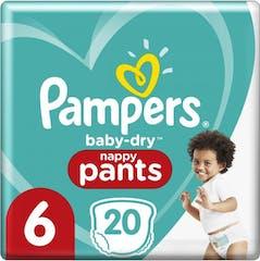 Pampers Baby Dry Pants Maat 6 - 20 Luierbroekjes