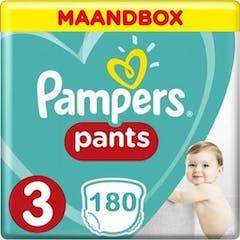 Pampers Pants Maat 3 - 180 Luierbroekjes Maandbox