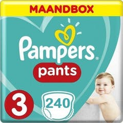 Pampers Pants Maat 3 - 240 Luierbroekjes Maandbox XL
