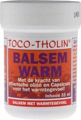 Toco-Tholin Balsem Warm 35 ml