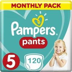 Pampers Baby Dry Pants Maat 5 - 120 Luierbroekjes