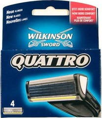 Wilkinson Quattro - 4 scheermesjes