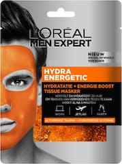 L'Oreal Paris Gezichtsmasker 30 gram Men Expert Hydra Energetic