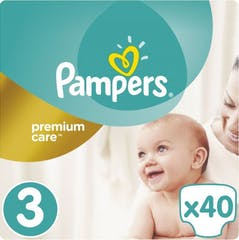 Pampers Premium Care Maat 3 - 40 Luiers