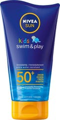 Nivea Sun Kids Swim En Play Zonnemelk Factor SPF 50 - 150 ml