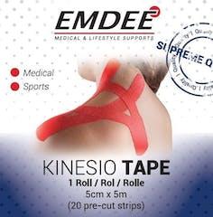 Emdee Kinesiology Tape Rood