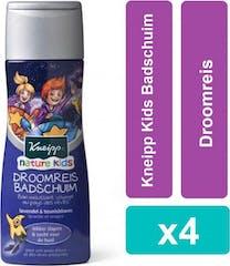 Kneipp Kids Badschuim 4x250 ml Droomreis Voordeelverpaking