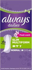 Always Dailies Inleg Slim Multiform Normal 40 Stuks