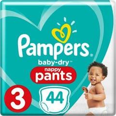 Pampers Baby Dry Pants Maat 3 - 44 Luierbroekjes