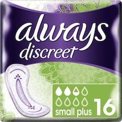 Always Discreet Maandverband Small Plus