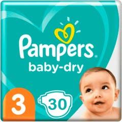 Pampers Baby Dry Maat 3 - 30 Luiers