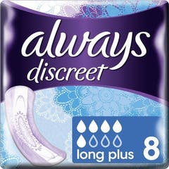 Always Discreet Verband Long Plus 8 Stuks