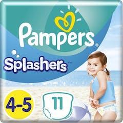 Pampers Splashers Zwemluiers Maat 4/5 - 11 Stuks