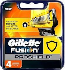 Gillette Fusion Proshield Yellow Scheermesjes - 4 Stuks