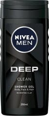 Nivea Douche 250 ml For Men Deep Clean