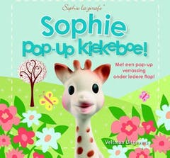 Sophie de Giraf Boek Pop-Up Kiekeboe!