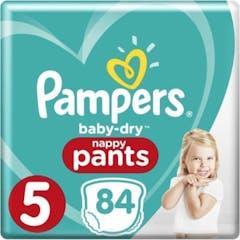 Pampers Baby Dry Nappy Pants Maat 5 - 84 Luierbroekjes