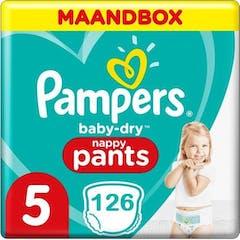 Pampers Baby Dry Pants Maat 5 - 126 Luierbroekjes
