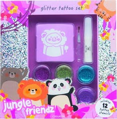 Casuelle Geschenkset Tattoo Jungle Friends