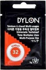 Dylon Textielverf Universele 5 gram Scarlet 32