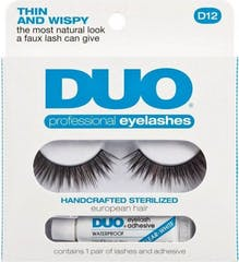 Duo Eyelash Professional Kit D12
