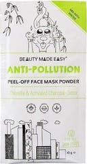 Beauty Made Easy Gezichtsmaske 10 gram  Powder Mask Anti Pollut