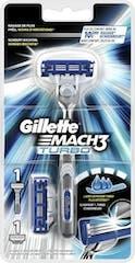 Gillette Mach 3 Turbo System Scheerapparaat + 2 scheermesjes