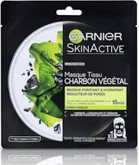 Garnier Gezichtsmasker 28 gram Pure Charcoal Black Tissue
