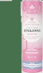 Ben & Anna Deodorant 60 gram Push Up Sensitive Japanese Cherry