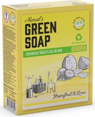 Marcel's Green Soap Vaatwastabletten 24 stuks Grapefruit en Limoen