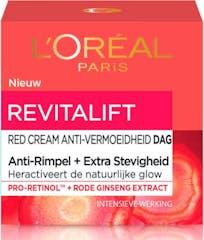 L'Oréal Paris Dagcrème 50 ml Skin Expert Red Cream Anti-vermoeidheid