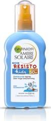 Garnier Ambre Solaire Zonnebrandspray 200 ml Resisto Kids Gekleurde Spray Hypoallergeen SPF 50+